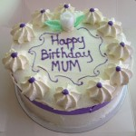 Fresh cream cake no sugar icing pic 2