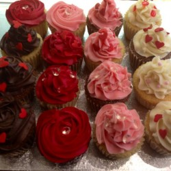 Lovers cupcakes