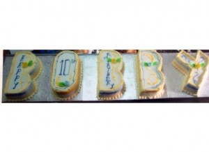 five letter cake