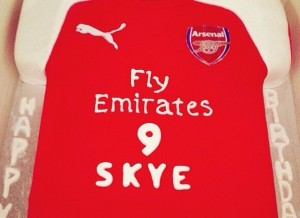 arsenal football shirt